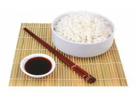 食物,日本的,食物,米饭,大豆,调味汁,筷子,壁纸图片