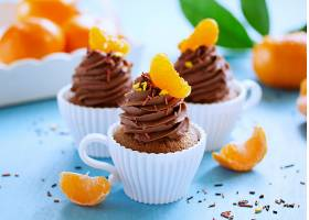 食物,蛋糕,水果,马德琳,甜点,橙色的,壁纸
