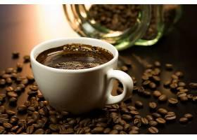 食物,咖啡,杯子,咖啡,豆子,壁纸(4)