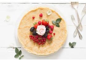 食物,crpe,黑莓,覆盆子,草莓,浆果,早餐,无核小葡萄干,壁纸