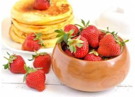 食物,草莓,水果,博饼,壁纸