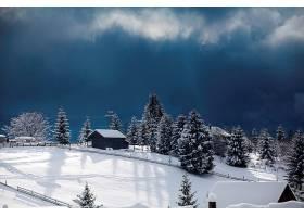 冬季漂亮雪景