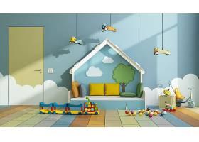 卡通风儿童房设计