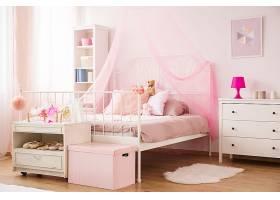 温馨粉色系列儿童卧室装潢设计