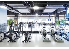 健身房健身器材摄影