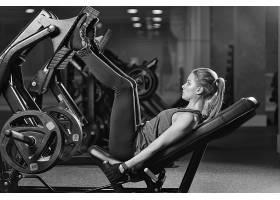健身房人物摄影