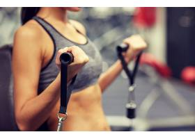 健身房性感美女