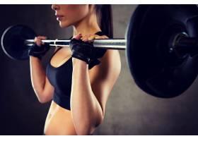 健身房的性感美女