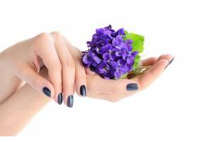 手心里的鲜花