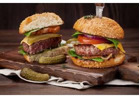西式汉堡包