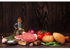 肉类汉堡包