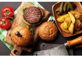 小菜与汉堡包