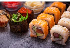 日式海鲜寿司