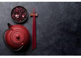 筷子与泡茶