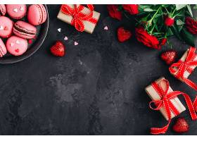 甜品与情人节饰品
