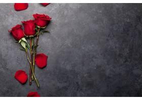 红玫瑰背景