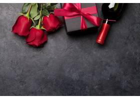 红玫瑰与红酒