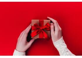 美女与情人节礼物