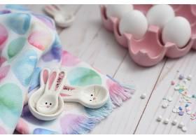 可爱兔子与彩蛋