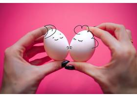 手绘卡通复活节彩蛋