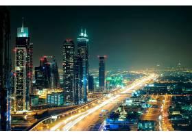 城市公路夜景