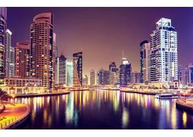 海岸城市夜景