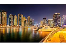 港口城市夜景