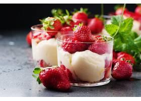 食物,甜点,冰,奶油,草莓,浆果,壁纸