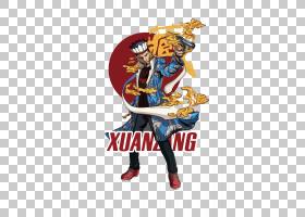 中国风国潮嘻哈男人免抠素材