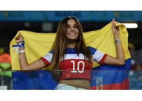 人,世界杯,美女,微笑,哥伦比亚,长发,拉丁裔6852