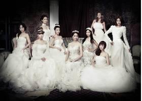 人,亚洲,少女时代,少女时代,音乐家,歌手,连衣裙,白色礼服,婚纱礼