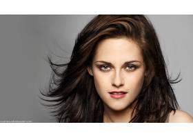 人,克里斯汀・斯图尔特,美女,绿眼睛,黑发,演员,面对,看着观众,肖