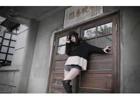人,亚洲,美女,帽子,牛仔短裤,黑发,常设29708