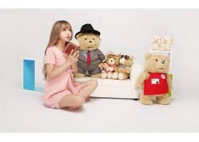 人,亚洲,美女,特德(电影),摊晒,读,泰迪熊29484