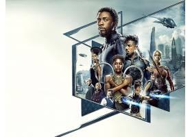 电影,黑色,美洲豹,查德威克,Boseman,迈克尔,B.,约旦,Lupita,Dana