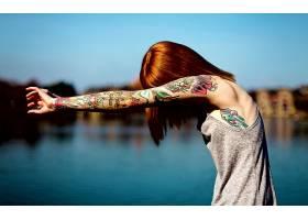 人,黥,红发,美女,景深64150