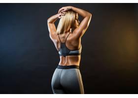 人,肌肉发达,黥,美女,枯瘦,健身模特,行使,锻炼,金发,瑜珈裤,胳膊