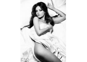 人,黑发,单色,Mila Kunis,演员,名人,美女,模特39508图片