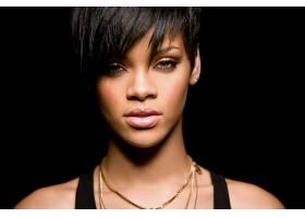 人,蕾哈娜(Rihanna),黑色,面对,短发,黑发,美女,歌手,乌木14212
