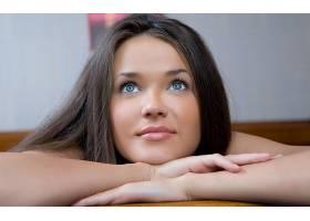 人,美女,黑发,蓝眼睛,抬头看,Chantelle A,面对,明星55111