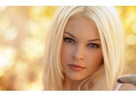 人,金发,美女,模特,面对,看着观众,布里丹尼尔斯25577