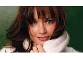 人,黑发,蓝眼睛,毛线衣,面对,美女,亚历克西斯布莱德尔37999