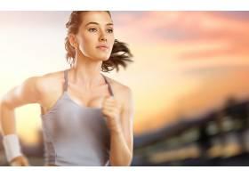 人,黑发,赛跑,美女,体育,模特5560图片