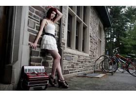 人,苏珊科菲,腿,在户外,美女,红发,模特,户外的女人62185