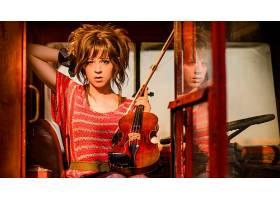 人,琳赛・斯特林,小提琴,乐器,美女,名人59391