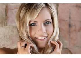 人,珍妮格雷格,面对,戒指,微笑,美女,模特23415