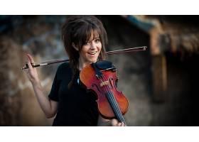 人,琳赛・斯特林,景深,小提琴,美女,音乐家23883