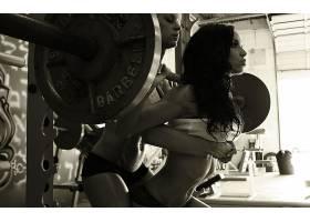 人,枯瘦,健美运动,美女,乌贼,运动,健身房,健身模特63347
