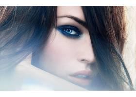 人,美女,眼线,蓝眼睛,梅根・福克斯,面对,化妆,名人,演员49061