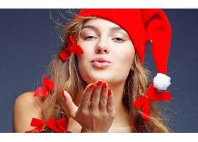 人,美女,圣诞,涂指甲17928